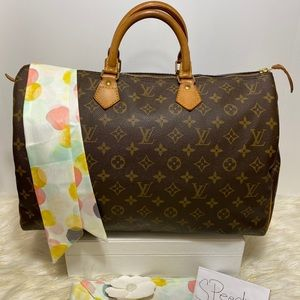 Louis Vuitton Speedy 40 Monogram Handbag only